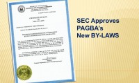 SEC Approves PAGBA's New By-Laws